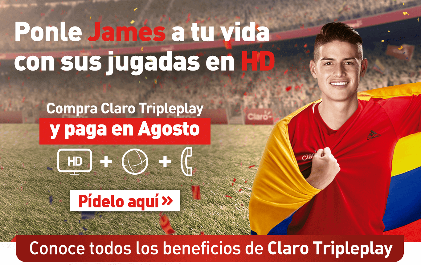 James y Claro Tripleplay