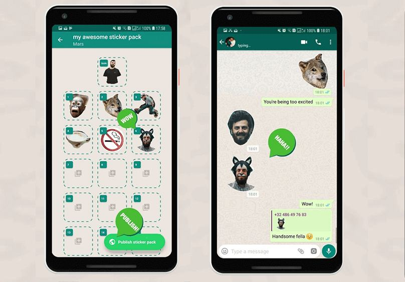 Stickers de WhatsApp para Android - Claro Colombia